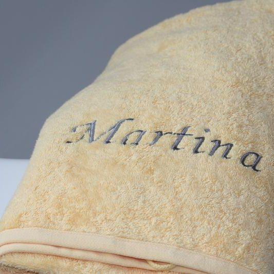 Handtuch Stickerei
