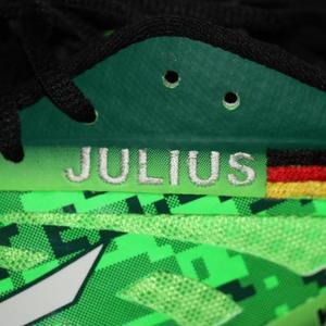 Schuh Stickerei / Name